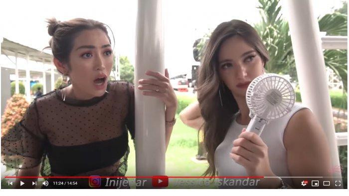 Pertama Kali Naik KRL Nia Ramadhani Ngeluh Kepanasan, Jessica Iskandar Kaget saat Tahu Harga Tiket