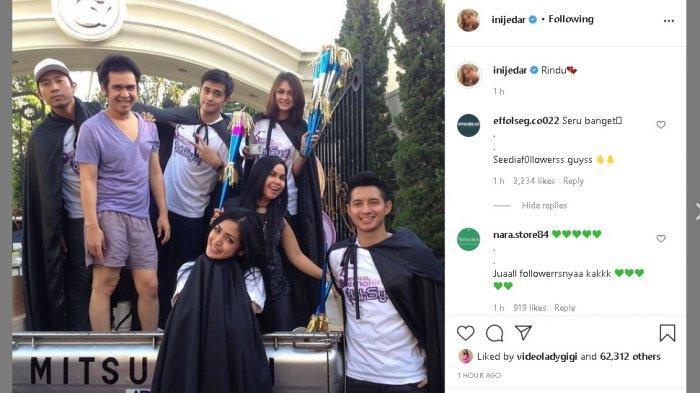 Jessica Iskandar pajang foto lawas.