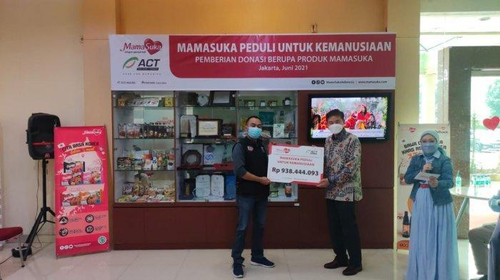 Mamasuka Serahkan Donasi ke ACT untuk Warga Terdampak Pandemi Covid-19