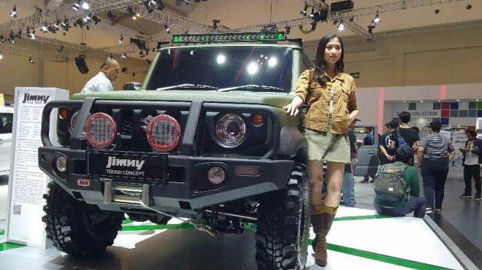 Buat Pengunjung Terpukau Jimny Tough Concept Mejeng di GIIAS 2019
