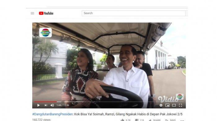Ramzi Berseloroh Minta Jokowi Antar Pulang ke Jakarta, Soimah Tertawa Ngakak, Iriana Sampai Bereaksi
