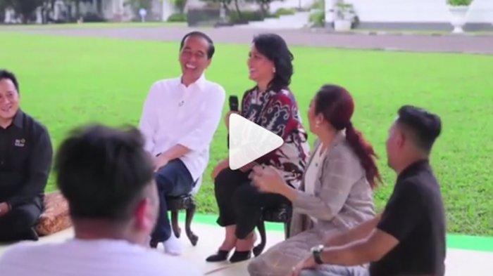 Jokowi Tertawa Lepas Lihat Aksi Soimah Nyanyi Lagu India, Iriana Sampai Menoleh ke Ayah Kaesang
