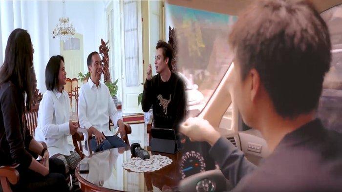 Hendak Bertemu Jokowi, Baim Wong Lakukan Kesalahan Ini Saat di Perjalanan: Bodohnya Gue!