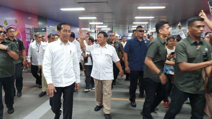 Jokowi dan Prabowo: Jangan Ada Lagi Cebong dan Kampret