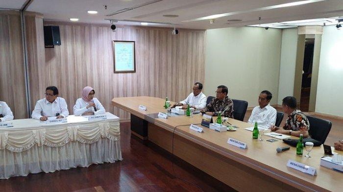 Dihadapan Jokowi, Plt Dirut PLN Mengakui Lambatnya Penanganan Pemadaman Listrik