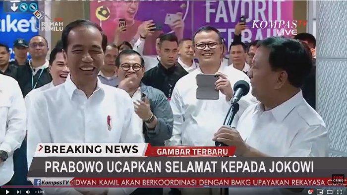 Prabowo Subianto Beberkan Alasan Belum Ucapkan Selamat ke Jokowi, Stasiun MRT Sontak Riuh