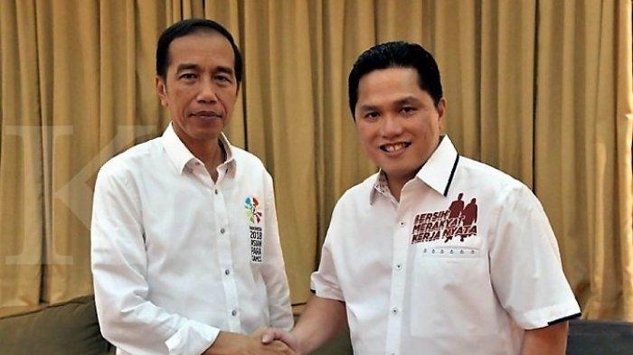 Erick Thohir Sebut Jokowi Siap Jawab Kasus Novel Baswedan di Debat Capres-Cawapres 2019