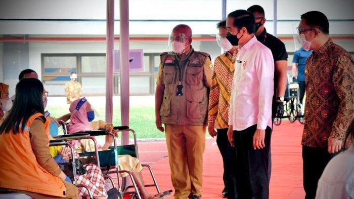 Vaksinasi Covid-19 Digelardi Stadion Patriot, Presiden Jokowi Berikan Pujian ke Pemkot Bekasi