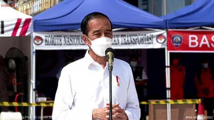 Warga Sunter Agung Tak Menyangka Kediamannya Didatangi Presiden Jokowi saat Malam Hari