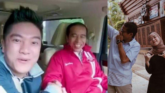 Jokowi Ngevlog Bareng Boy William, Sandiaga Gandeng Nissa Sabyan, Ini Kata Pengamat Politik