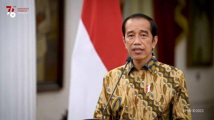 Momen Presiden Joko Widodo Bertemu Pria Bernama Sama, Tawa Berubah Menjadi Tangis Haru