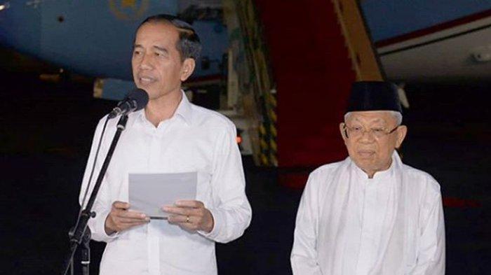 Dianggap Jarang Muncul, Ma'ruf Amin Ungkap Pembagian Kerja Wapres Jokowi: Tak Ada 2 Matahari