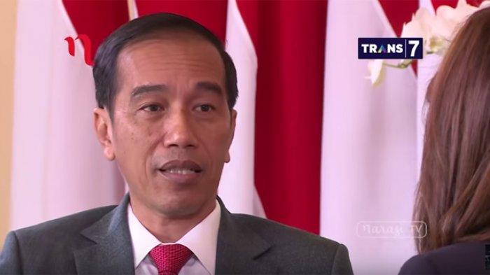 Ini Pesan Presiden Jokowi Saat Hadiri Resepsi Pernikahan Raditya Dika dan Anissa Aziza