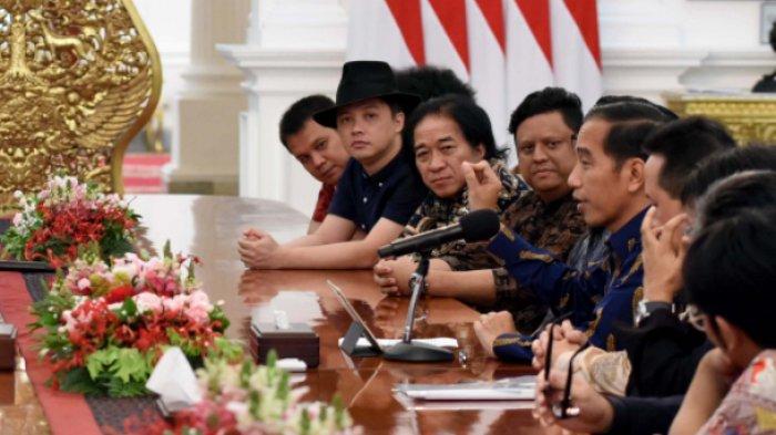 Mengaku Telah Menerima Hasil Konferensi Musik Nasional, Begini Harapan Jokowi