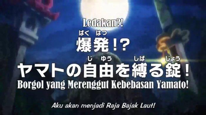 Jadwal dan Spoiler Anime One Piece 993, Yamato Cerita Datangnya Ace ke Onigashima ke Monkey D Luffy
