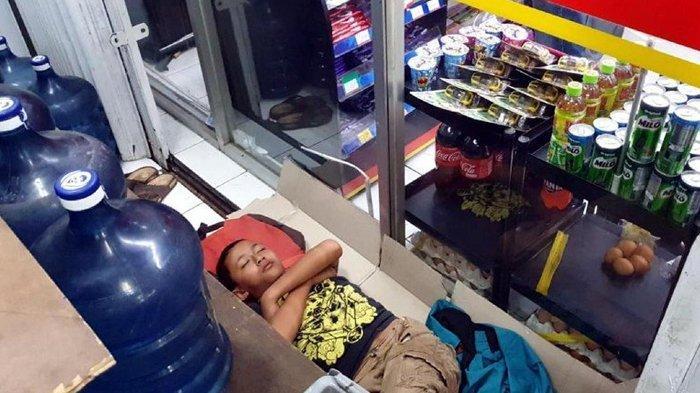 Kisah Julian, Yatim 12 Tahun Hidup Banting Tulang: Jadi Pemulung, Juru Parkir, Tidur di Emperan Toko