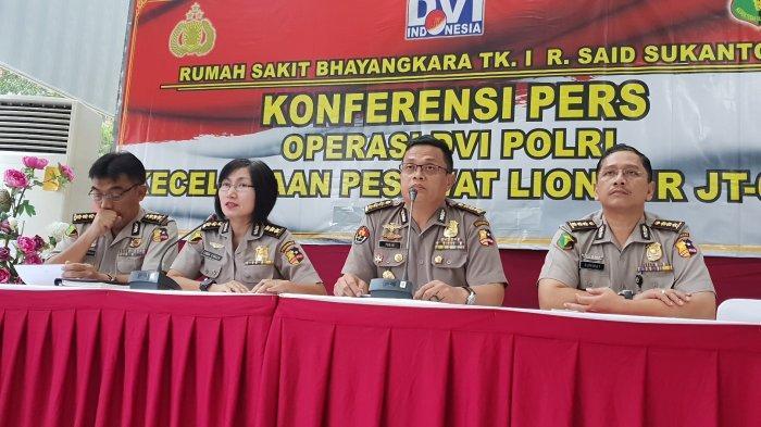 Rampung Periksa Seluruh Body Part Korban Lion Air PK-LQP, Besok Operasi DVI Selesai