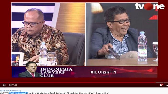 Laporkan Rocky Gerung Soal 'Jokowi Tak Paham Pancasila', Junimart Girsang: Sudah Hina Simbol Negara!