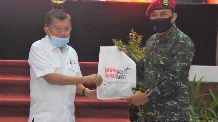 Ketua Palang Merah Indonesia Jusuf Kalla Apresiasi Konsistensi Kopassus Rutin Gelar Donor Darah