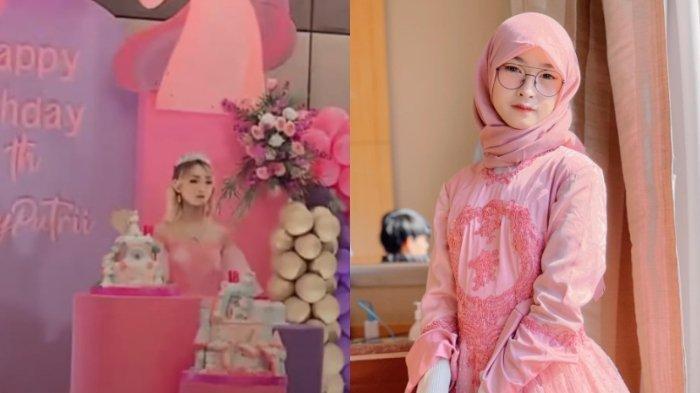 Juy Putri, artis TikTok yang kini tengah jadi sorotan karena gelar pesta ulang tahun di tengah PPKM.