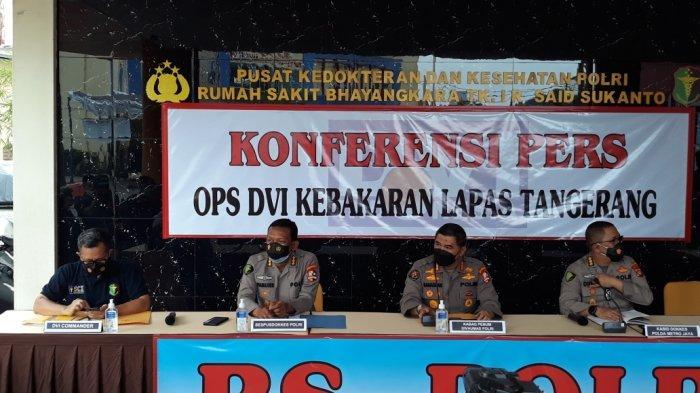 Dua Korban Meninggal saat Kebakaran Lapas Tangerang Teridentifikasi, Usia Masih di Bawah 30 Tahun