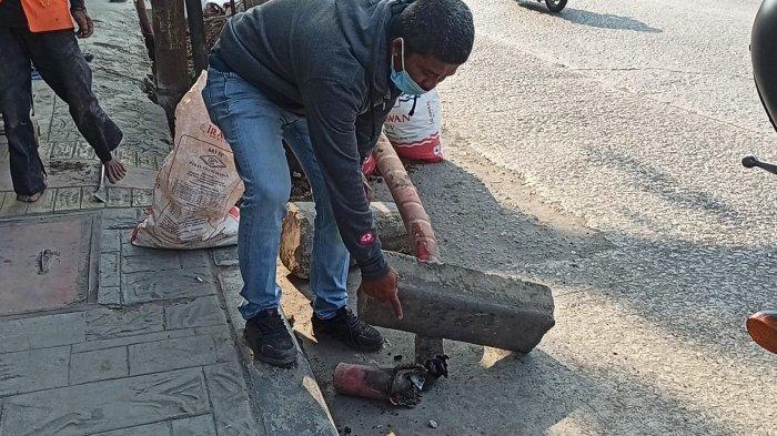 Ledakan Akibat Kabel PLN Putus di Jalan Plumpang, Dua Orang Alami Luka Bakar 40 Persen