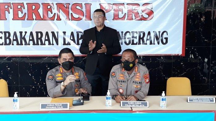 Polisi: Dugaan Asal Api Kebakaran Lapas Tangerang dari Sel Nomor 4