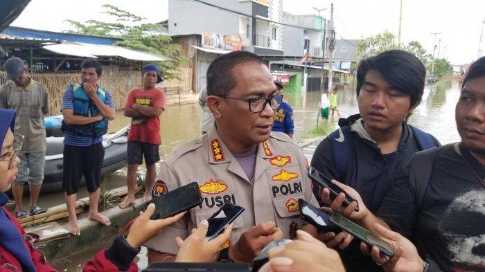 Penjelasan Polisi, Pemicu Kerusuhan di Mall AEON karena Banjir Cakung, Kaca Pecah dan Isu Penjarahan