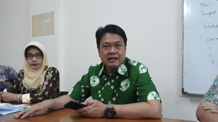 Kadisnarkertrans Provinsi DKI Jakarta Andri Yansyah di Kramat Jati, Jakarta Timur, Kamis (18/7/2019).