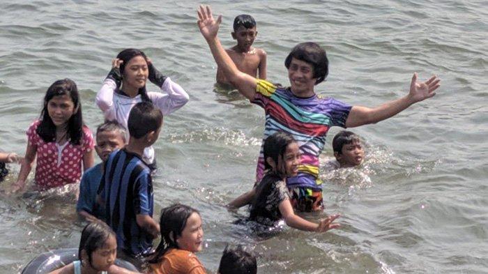 Rayakan Hari Anak Nasional, LPAI Ajak Anak-anak Nelayan Liburan ke Pantai Wisata