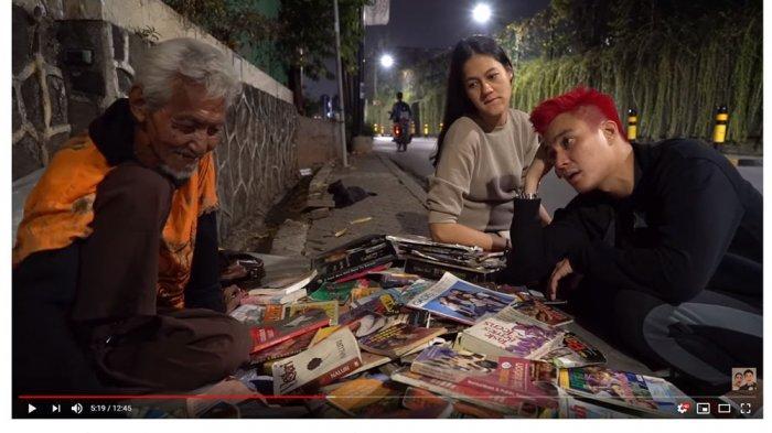 Dibantu Baim Wong, Curhat Kakek Penjual Buku di Cipete: Anakku Tiga, Udah Enggak Kenal Aku Semua