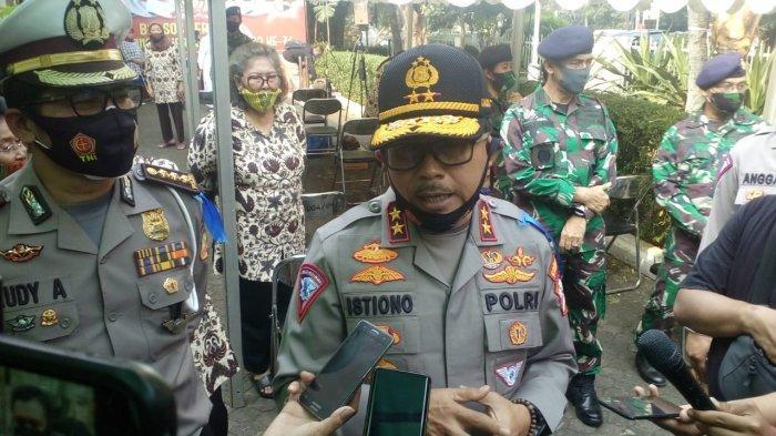 Kakorlantas Polri, Irjen Istiono, saat dijumpai wartawan di kawasan Pangkalan Jati, Cinere, Kota Depok, Rabu (29/7/2020).
