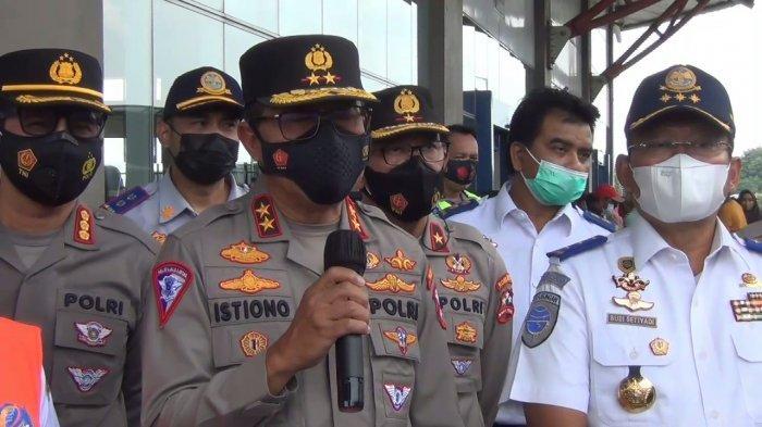 Polisi Amankan 200 Travel Gelap dari Hasil Razia