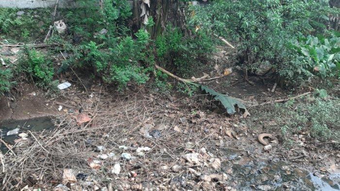 Kali Pesanggrahan Jaksel Dipenuhi Tumpukan Sampah Plastik hingga Ban Bekas, Sering Berdampak Banjir