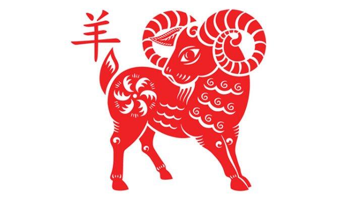 Shio kambing.