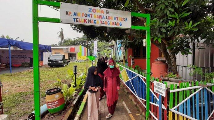 Melihat Warna-warni Kampung Airport, Binaan PT Angkasa Pura II di Kabupaten Tangerang