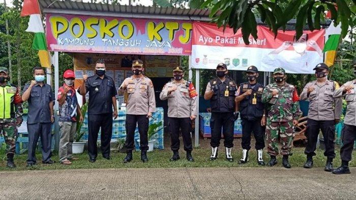 Kampung Tangguh di Serang Baru Bekasi Berkontribusi Nyata Tekan Angka Penularan Covid-19