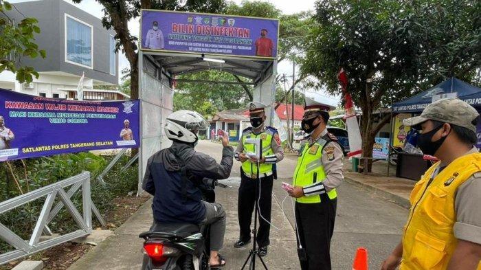 Garap 99 Kampung Tangguh Jaya, Polisi  Klaim Hapus Zona Merah di 17 RT Wilayah Hukum Polres Tangsel