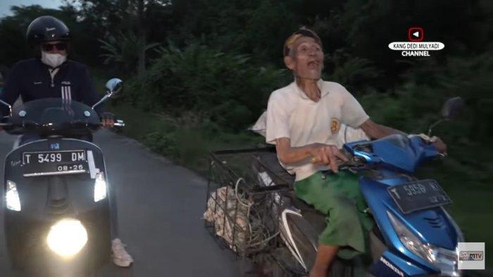 Berusia 100 Tahun, Kakek Ini Masih Semangat Kendarai Motor Cari Rongsokan: Duitnya Buat Bagi Cucu