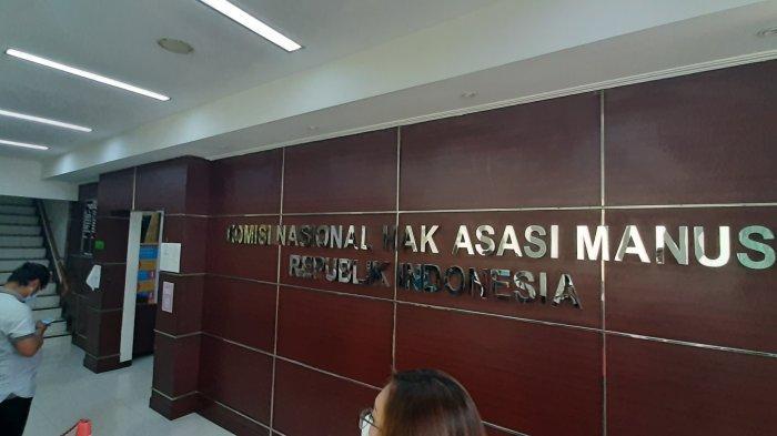 Kantor Komisi Nasional Hak Asasi Manusia (Komnas HAM), di Jakarta Pusat, Senin (14/12/2020). Kapolda Metro Jaya Irjen Pol Fadil Imran memenuhi undangan Komnas HAM terkait tewasnya 6 laskar FPI
