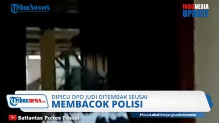 DPO Kasus Judi Tewas Ditembak Polisi, Kantor Polsek Sungai Pagu Sumbar Dirusak Massa: Kaca Pecah