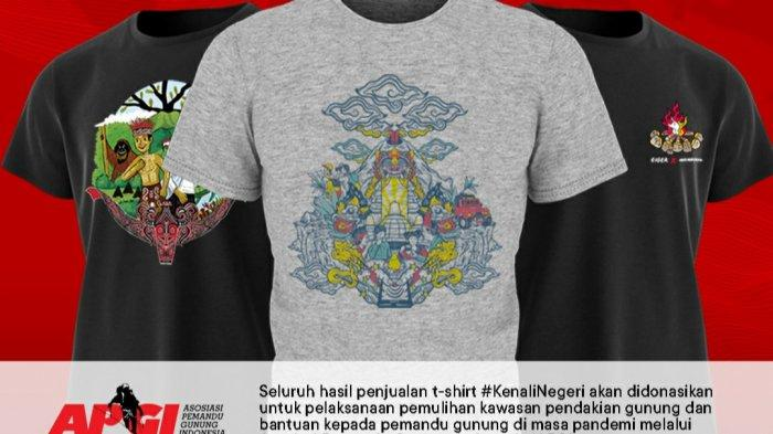 Eiger Gaet 3 Seniman Lokal Luncurkan Kaus Bertema Indonesia