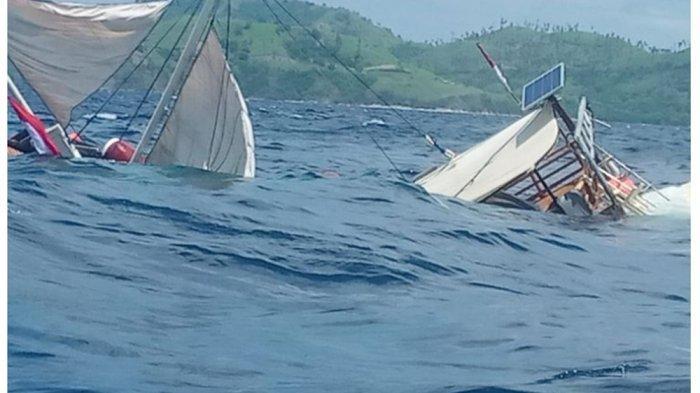 Berikut Kronologi Karamnya Kapal yang Ditumpangi Wartawan Istana di Labuan Bajo: Langsung Terbalik