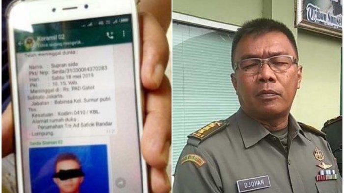 TNI Bakal Polisikan Penyebar Hoaks Serda Supran Meninggal Terpapar Cacar Monyet