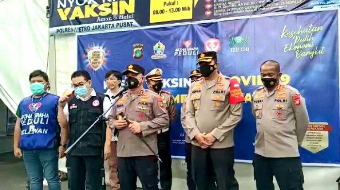 Kapolda Metro Irjen Fadil Harap Seluruh Warga Jakarta Sudah Suntik Vaksin pada 17 Agustus 2021