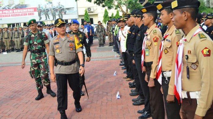 1991 Personel Gabungan Disiagakan Saat Natal dan Tahun Baru 2020 di Kabupaten Bekasi