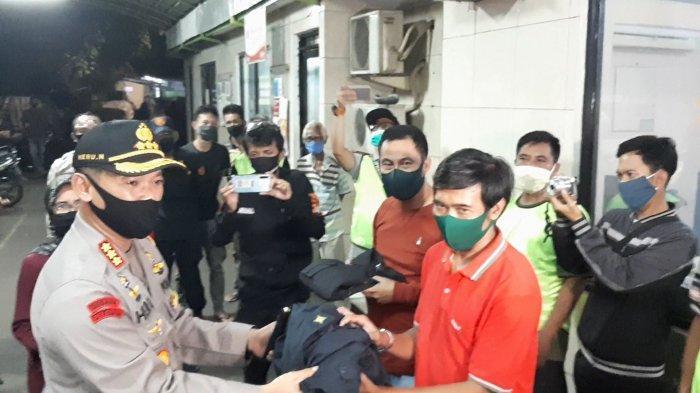 Polres Jakarta Pusat Kunjungi Pos Siskamling di Wilayah Ini, Ajak Warga Binaan Bantu Jaga Keamanan