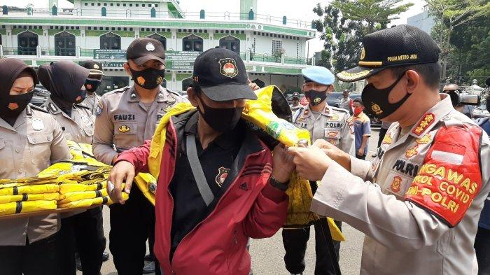 Polres Jakarta Selatan Gandeng Komunitas dan Ormas Tegakkan PSBB Ketat