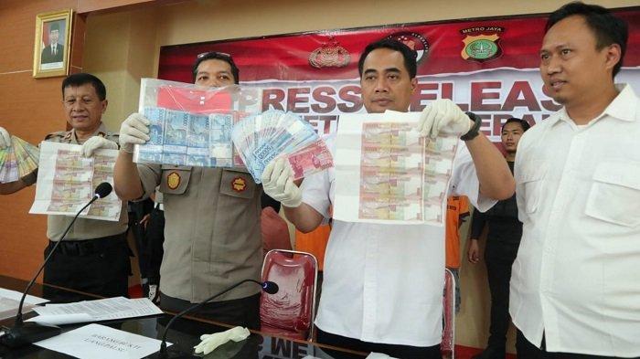 Polisi Ungkap Peredaran Uang Palsu Senilai Puluhan Juta Rupiah di Tangerang