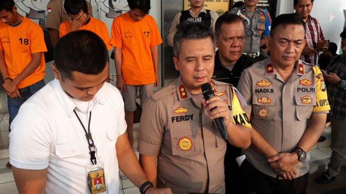 Aparat Polres Tangerang Selatan Tangkap Maling Motor yang Kerap Beraksi di Pamulang